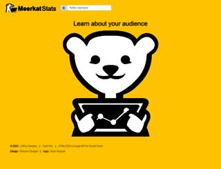 meerkatstats.com screenshot