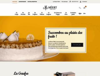 meert.fr screenshot
