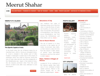 meerutshahar.com screenshot