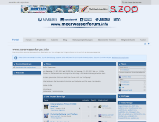 meerwasserforum.info screenshot