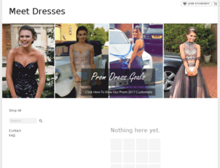 meetdresses.storenvy.com screenshot