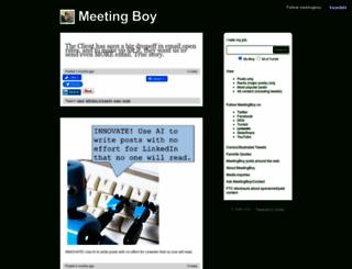 meetingboy.com screenshot