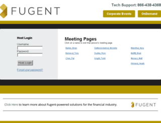 meetings.fugent.com screenshot