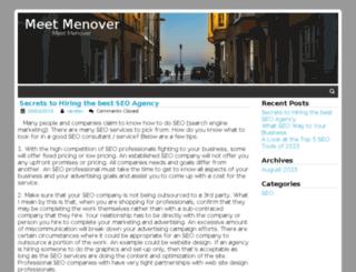 meetmenover40.com screenshot