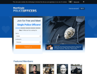 Dating websites to meet police officers