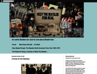 meetthebeatlesforreal.blogspot.co.uk screenshot