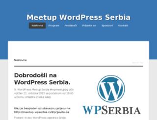 meetup.wpserbia.rs screenshot