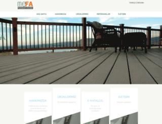 mefadekorasyon.com.tr screenshot