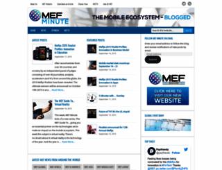 mefminute.com screenshot