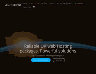 mega-hosting.co.uk screenshot