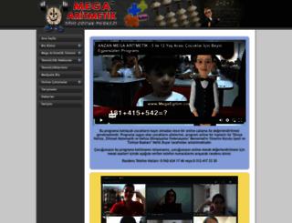 megaaritmetik.com screenshot