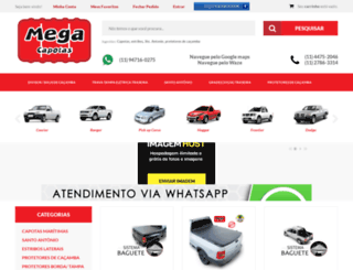 megacapotas.com.br screenshot