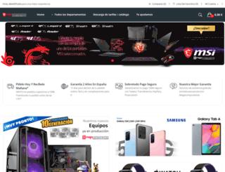 megacomponentes.com screenshot