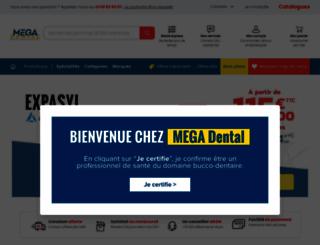 megadental.fr screenshot