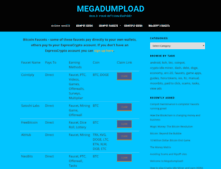 megadumpload.com screenshot