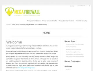 megafirewall.info screenshot