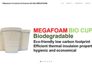 megafoam.com screenshot