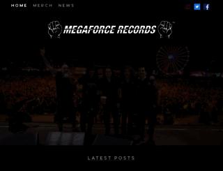 megaforcerecords.com screenshot