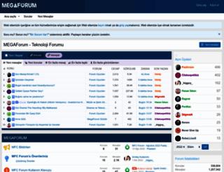 megaforum.com screenshot