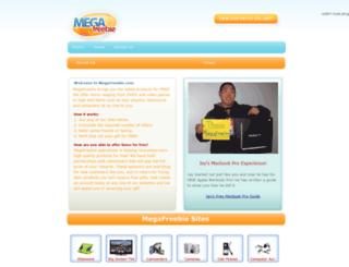 megafreebie.com screenshot