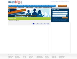 megajobs.com screenshot