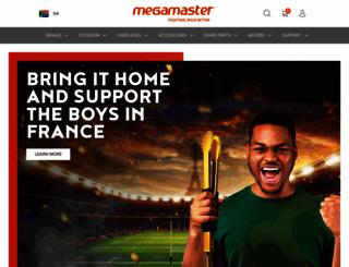 megamaster.co.za screenshot