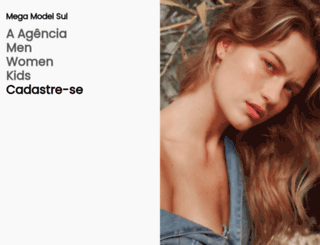 megamodelsul.com.br screenshot