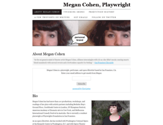 megancohen.com screenshot