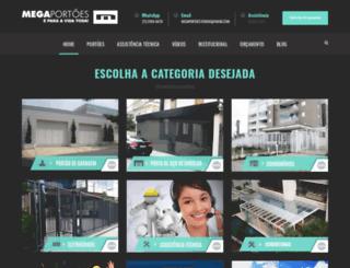 megaportoes.com.br screenshot