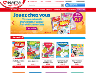 megastar.fr screenshot