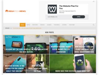 megatechnews.com screenshot