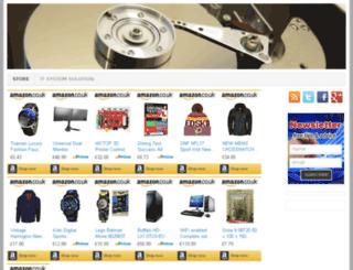 megatecstore.com screenshot