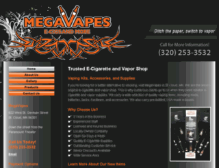 megavapesstcloud.com screenshot