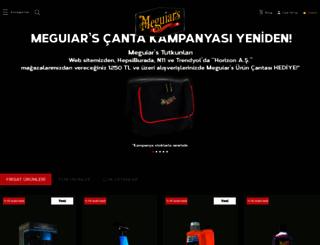 meguiars.com.tr screenshot