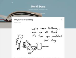 mehdidana.com screenshot