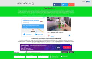 mehide.org screenshot
