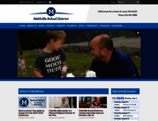 mehlvilleschooldistrict.com screenshot