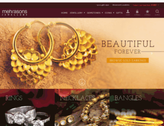 mehrasonsjewellers.com screenshot