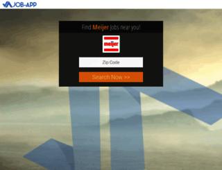 meijer.job-app.org screenshot
