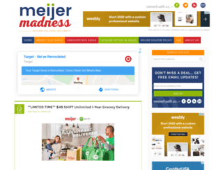 meijermadness.com screenshot