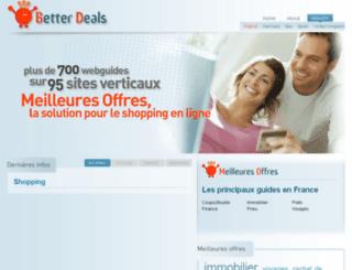 meilleures-offres.fr screenshot
