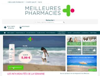 meilleurespharmacies.com screenshot