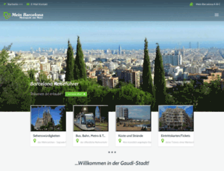 mein-barcelona.com screenshot
