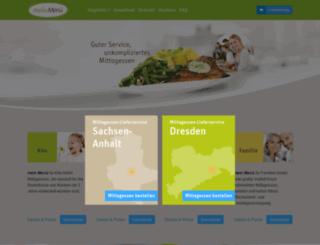mein-menue.de screenshot