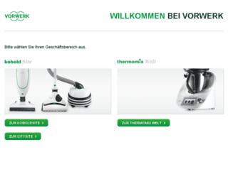 mein.vorwerk.de screenshot