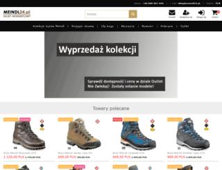 meindl24.pl screenshot