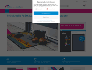 meinedesignmatte.de screenshot