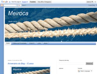 meiroca.blogspot.com.br screenshot
