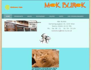 mek-burek.at screenshot