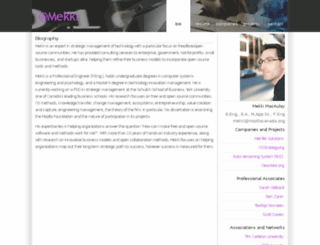 mekki.ca screenshot